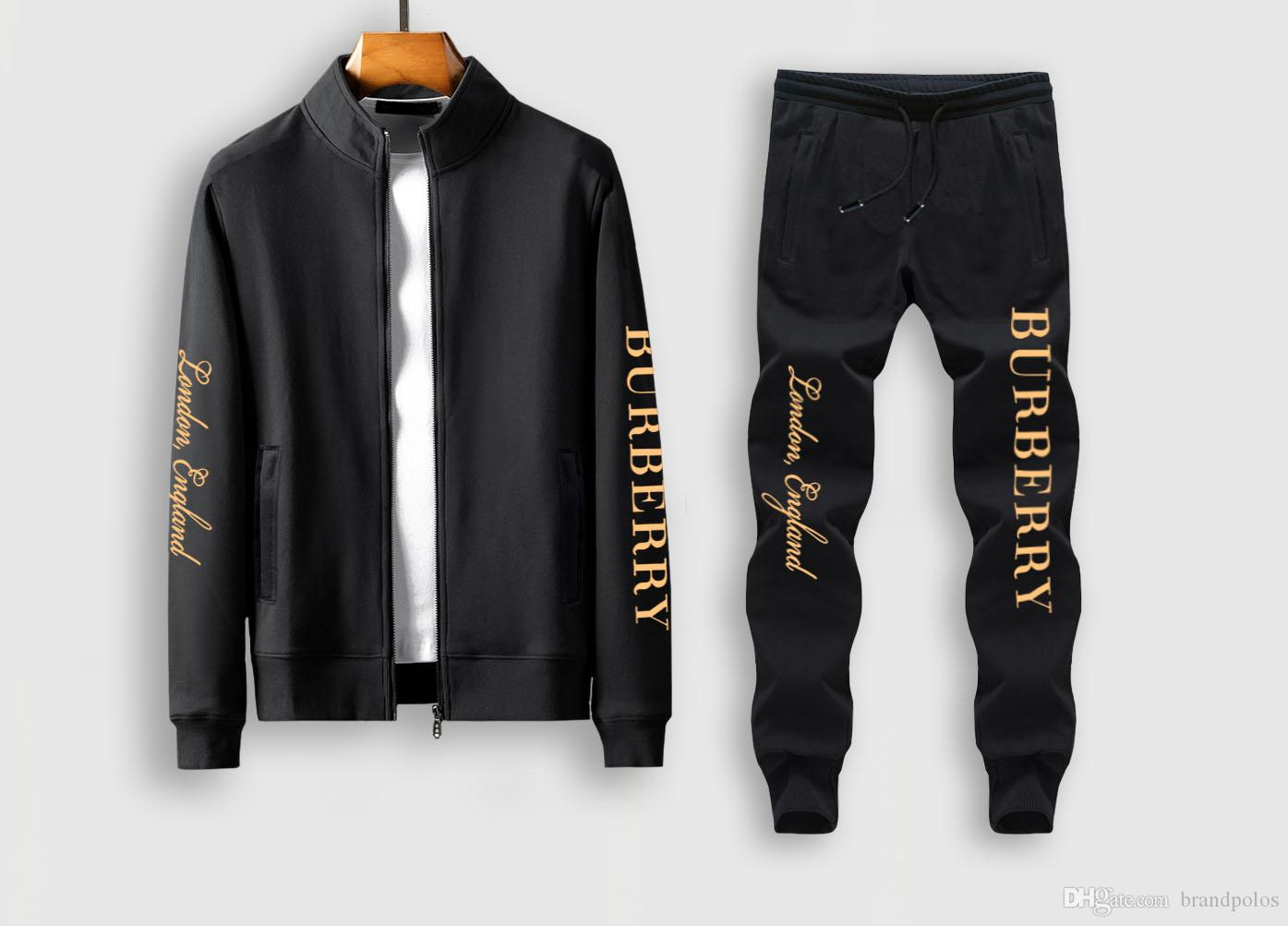Designer Sportswear Carta Imprimir Jogging Suit manga comprida Casal Casual Medusa Sportswear Set de Homens Autumn Paris