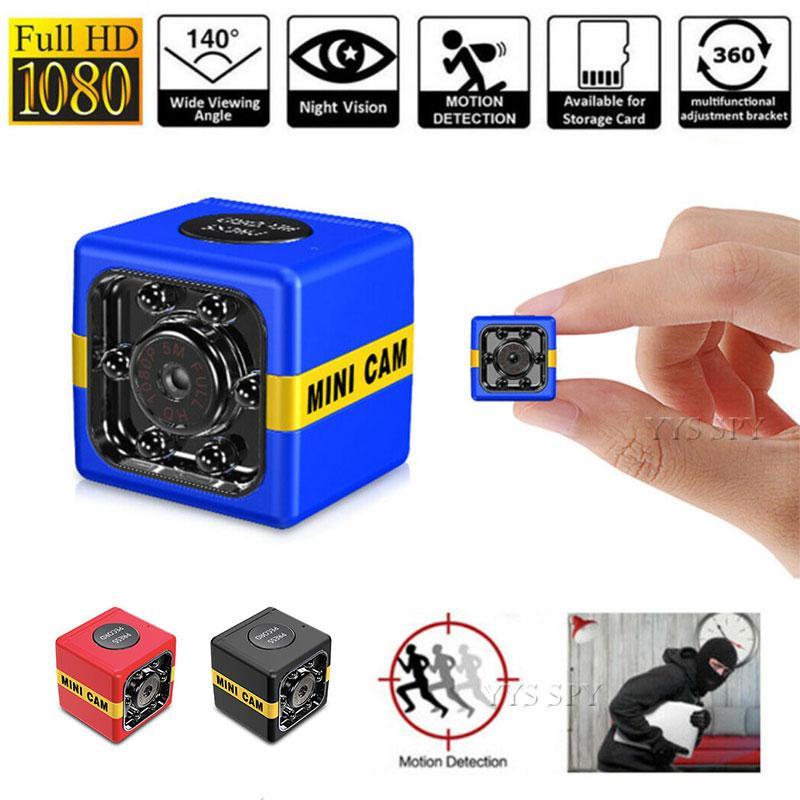 New FX01 CAM 1080P HD Mini Camera Auto IR Night Vision Motion Detection Micro Cam DVR Video Recorder Camara Espia Support Hidden TF Card