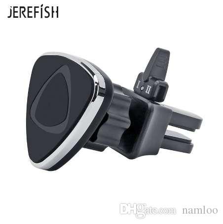 JEREFISH سيارة حامل الهاتف المغناطيسي الهواء تنفيس جبل الهاتف المحمول الذكي حامل المغناطيس دعم الهاتف الخليوي الهاتف اللوحي GPS