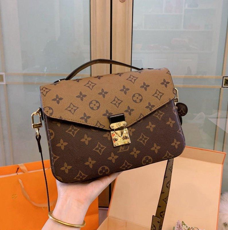 2020 Yeni çanta Deri Çanta Lüks Çanta Omuz çantası Messenger Bag nakliye TOP Ücretsiz -11218