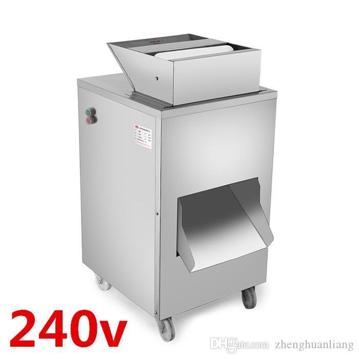 240v 1100w QC-A Huhn, Ente, Gans, Taube, Fischschneidemaschine, Fleischschneidemaschine, Produktion 800KG / Stunde