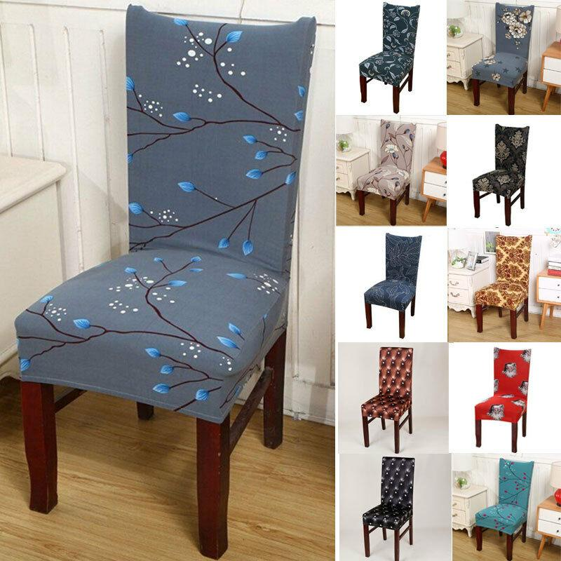 Stretch Spandex Removeable Dining Room, Dining Room Chair Slipcovers
