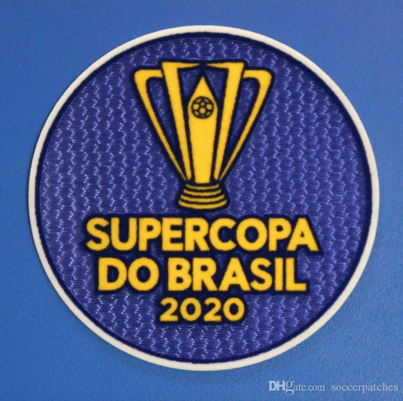 Supercopa Do Brasil 2020 Patch Conmebol Recopa Patch Flamengo Super Copa Do Brasil soccer Patch free shipping