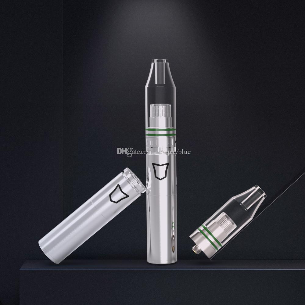 Newpayblue 100w Vara da bateria Tronco Pré-aqueça o Starter Kit Dab Pen vapor puro com mais novo cristal de quartzo Coilless Tanque Atomizador Wax seco Herb