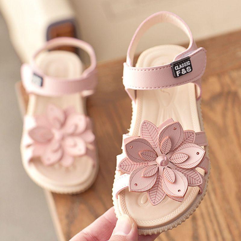 ULKNN Girls Sandals Summer Hot Children