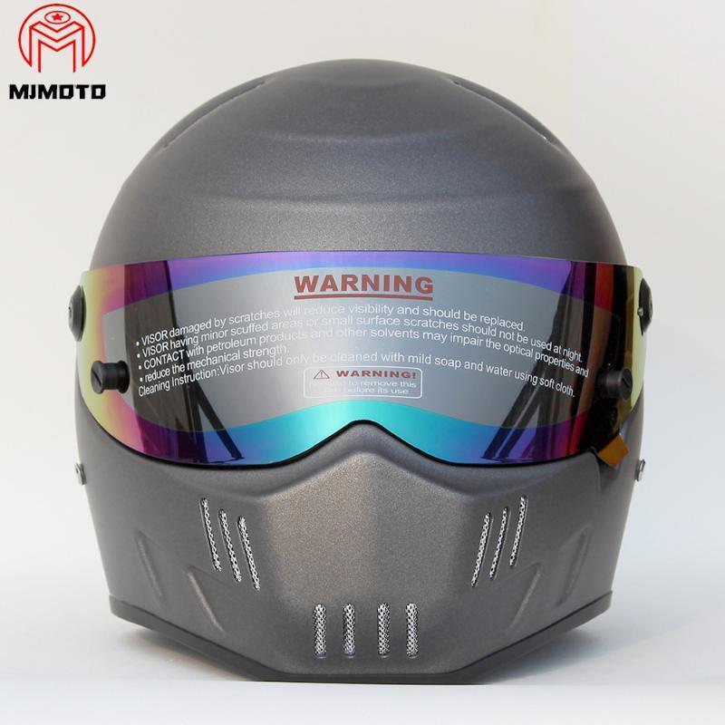 New Motorcycle Atv Dirt Bike Helmet Street Kart Car Moto Riding Full Face Helmets Motocross Mx Protective Dot Certification