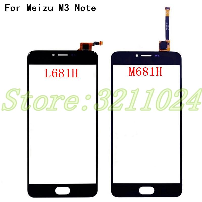 5.5 inches Touchscreen Front Panel For Meizu M3 Note M681H L681H L681 M681 Touch Screen Sensor Digitizer Glass Replacement