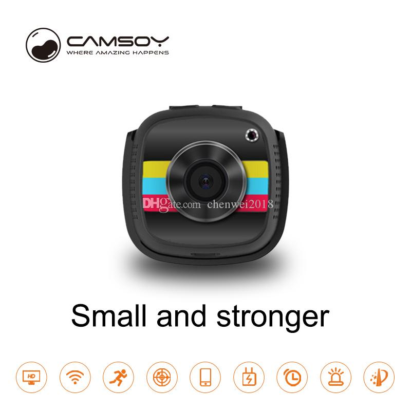 Smart wifi mini camera Full HD 1080P Night vision wearable mini boby camera wireless remote home security surveillance video camcorder C9