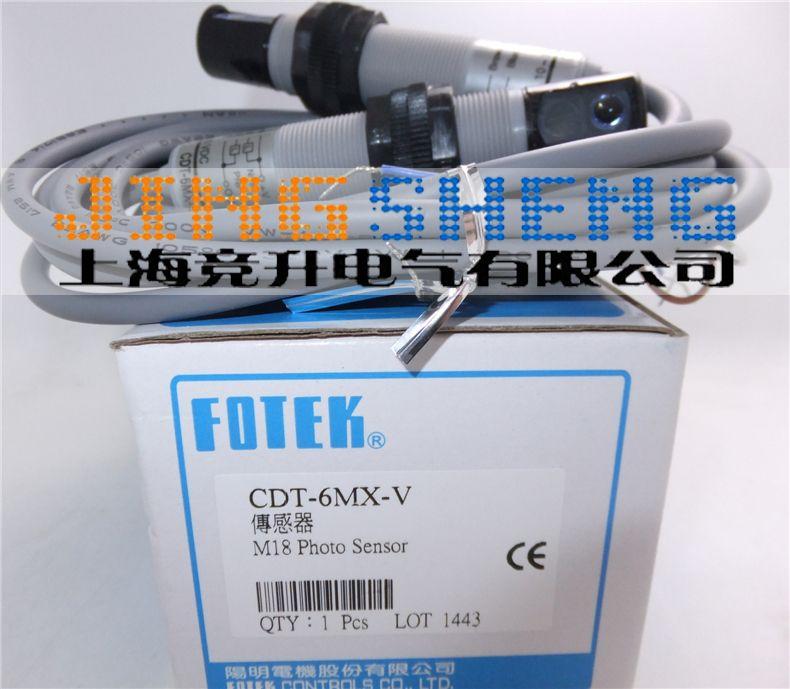 CDT-6MX-V FOTEK Original & New Photoelectric Switch Sensors