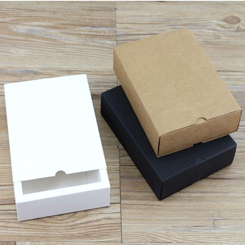 350gsm caixa de papel caminhão embalagem cartão impresso costume preto caixa de embalagem de fácil montagem branco presente artesanal kraft