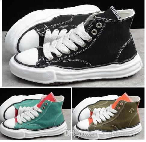 Maison Mihara Yasuhiro Men's Fashion Online Sole hi top sneakers Shoes at your favorite shops yakuda store for men women boots Training