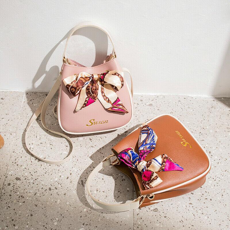 Frauen Bahgs Handtasche PU-Leder Schultertasche Damen-Geldbeutel Tote Messenger Satchel Umhängetaschen / BY