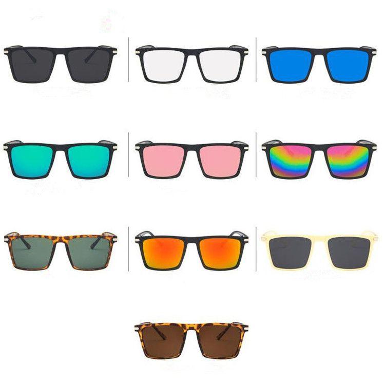 Moda Kadınlar Men kişilik Güneş Klasik Dikdörtgen Güneş Gözlük Anti-UV Gözlük Gözlüğü Retro Gözlükler Gözlüğü Adumbral A ++