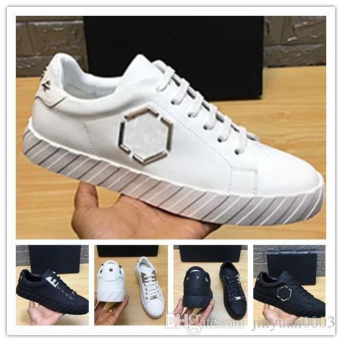 NOVO DA FORMA chegou 3 cores calça HOMENS EU38-45 TAMANHO couro de alta qualidade PP material da sola sapatos homem TRANSPORTE LIVRE 0q1
