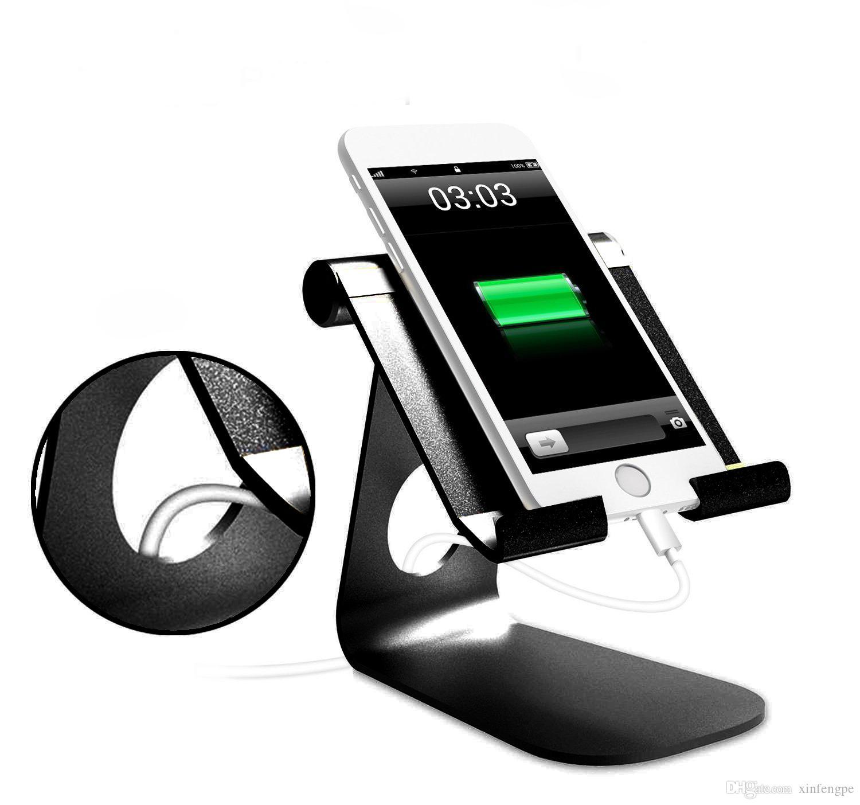 حامل الهاتف الخليوي قابل للتعديل ، Lamicall حامل قفص الاتهام الهاتف ، حامل مناسبة للتبديل ، اي فون 8 X 7 6 6S زائد 5 5s 5c الشحن ، مكتب الملحقات