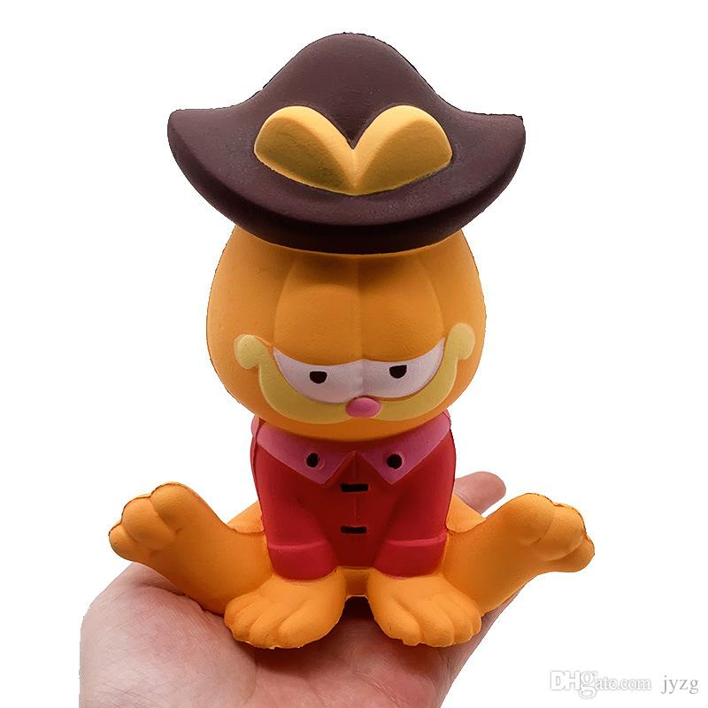 Squishy Toy 16cm Garfield Slow Rising Jumbo Stress Relieve Dolls Multicolor Children Squeeze Toys Kids Decompression best gift