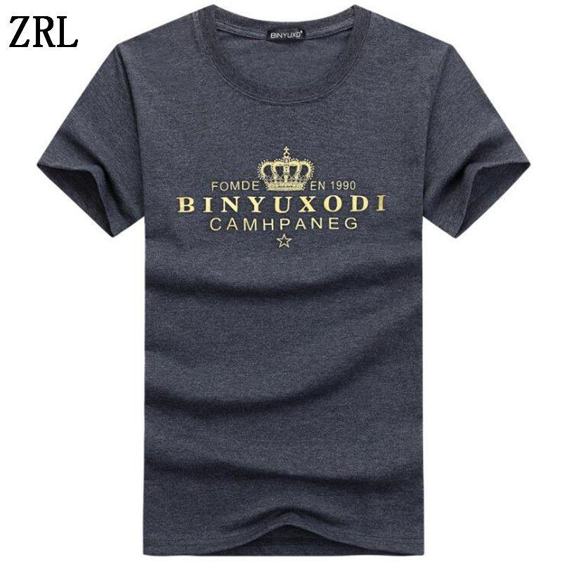 Erkek T-Shirt Yaz Kısa Kollu T gömlek erkekler Basit yaratıcı tasarım Baskı pamuk Marka gömlek Erkekler Top Tees HC-3