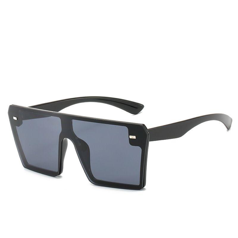هوت الأسود الوردي الأزرق المتضخم ساحة النظارات الشمسية الرجال النساء خمر التدرج عدسة Shaides نظارات شمسية للرجال الإطار الكبير نظارات 2020 الصيف للجنسين
