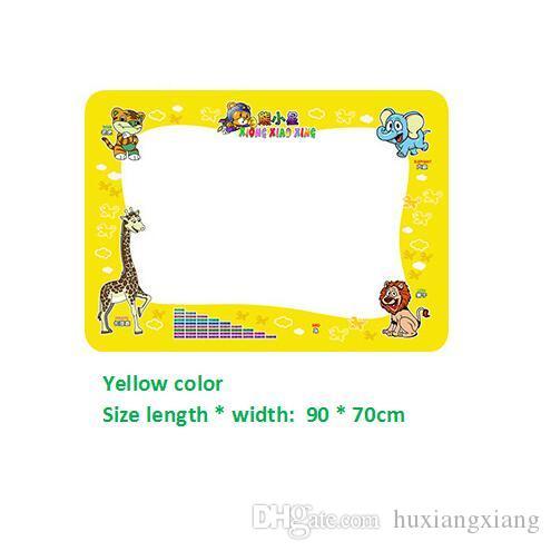 2019 Factory Wholesale-New Aqua Doodle Children's Drawing Magic Water Canvas Mat Educational Toy 1 Mat+ 2 Water Drawing Pen 90*70cm S19JS236