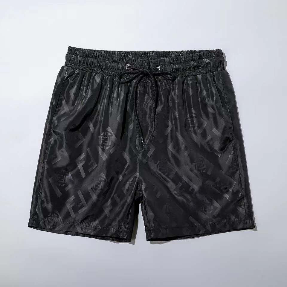 2020SS Summer shorts waterproof fabric designerFF men's white black Medusa beach shorts pants men's swimwear men's swimming trunks