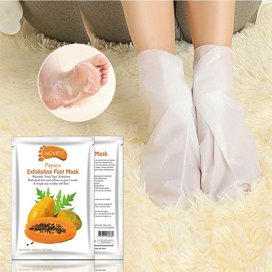 Exfoliating Foot Mask Socks For Pedicure Baby Foot Peel Feet Mask Skin Care Cosmetics Peeling Foot Health Tool RRA1502