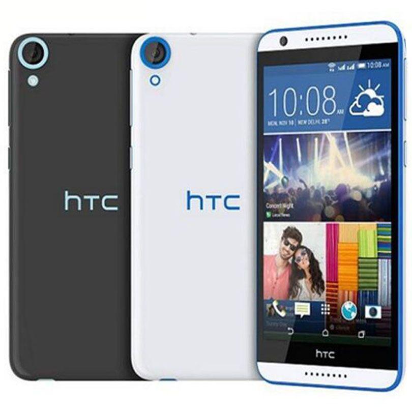 الأصلي HTC تجديدها الرغبة 820 المزدوج سيم 5.5 بوصة الثماني الأساسية 2GB RAM 16GB ROM 13MP مفتوح 4G LTE الروبوت الهاتف الخليوي الذكية DHL محفظة 5pcs