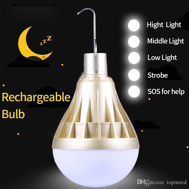 Led Lamp intelligente lampadina Bombillas LED Fiala LED lampade USB ricaricabili casa Lights Bulbs di emergenza per il campeggio di illuminazione