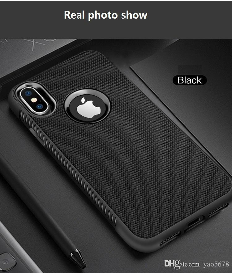 For Iphone XR XS MAX X 6S 7 8 plus TPU soft rubber silicone cell mobile phone case cover slim cover for samsung S8 S9 plus note 8 luxury X55