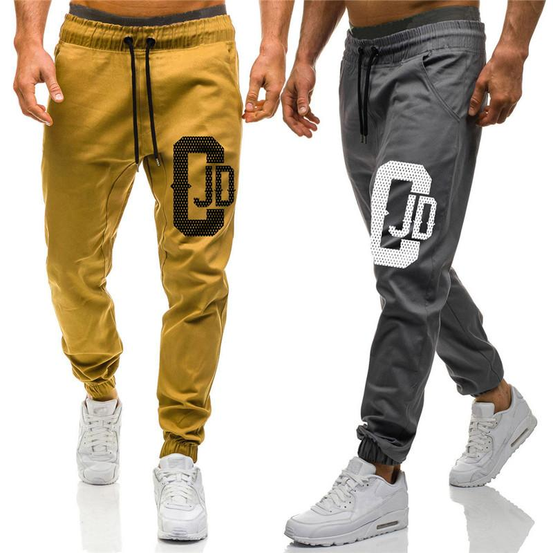 Sweatpants for Man New Fashion Printed Jogger Pencil Pants Fitness Bodybuilding Pants For Runners Pencil Trousers