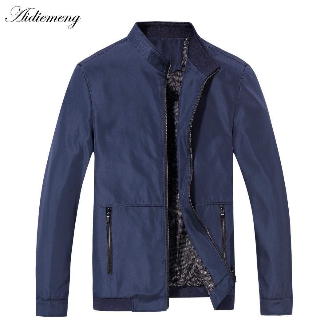 폭격기 착실히 보내다 플러스 크기 폭격기 재킷 남성 캐주얼 남성 자켓 높은 품질 남성 윈드 남성 코트