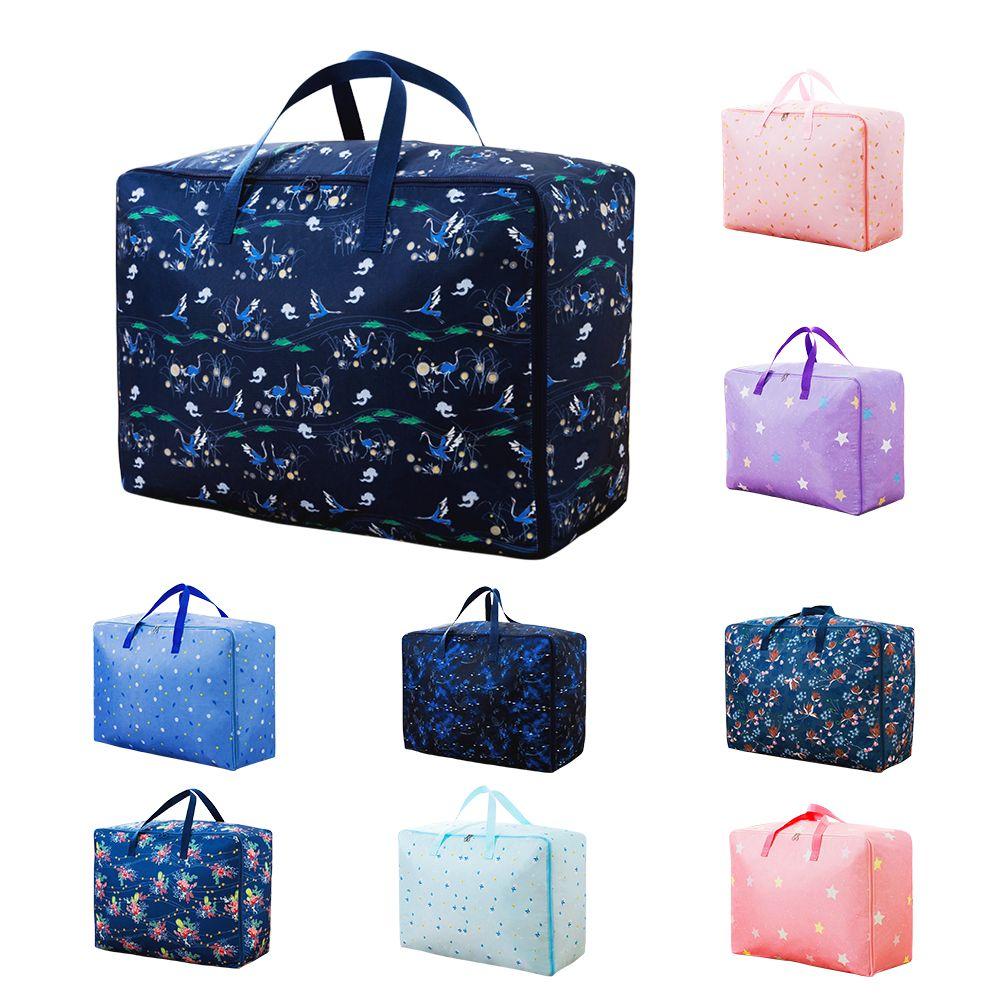 Clothing Organizer Quilt Pillow Storage Bag Home Tidy Pouch Wardrobe Closet Handbag Travel Moving Bedding Storage Container