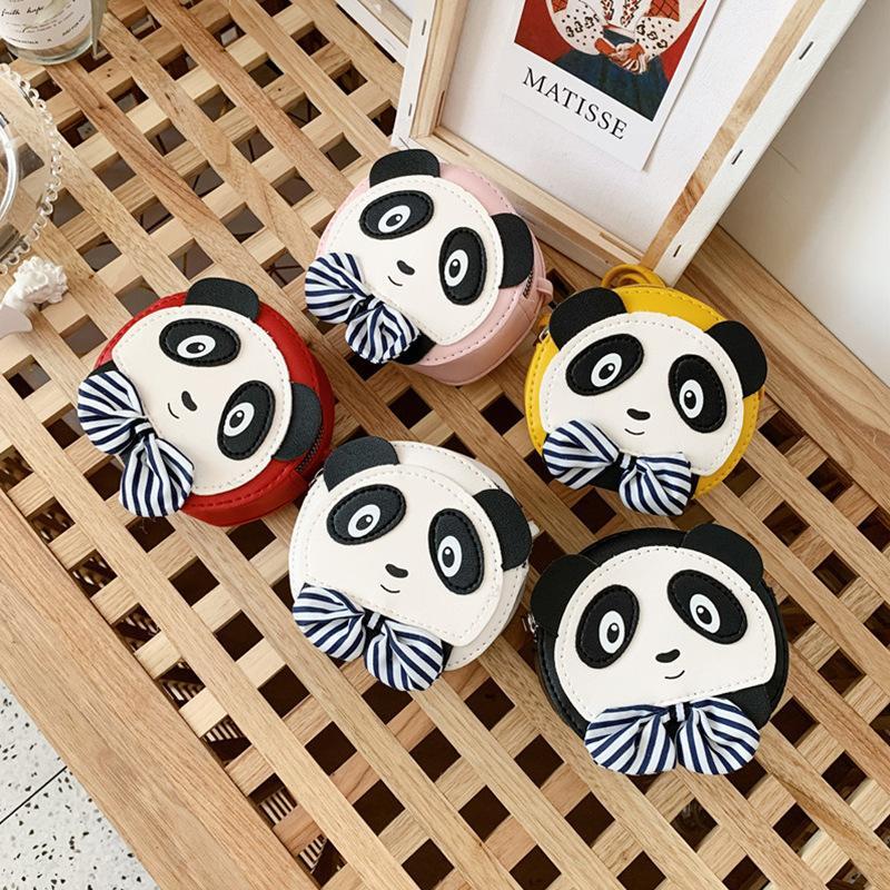 print enfants Sacs à main mode coréenne concepteur bébé Porte-Monnaie Adolescent Filles Mini Messenger Chine Panda Sacs enfants PU 5colors Sacs à bandoulière B341