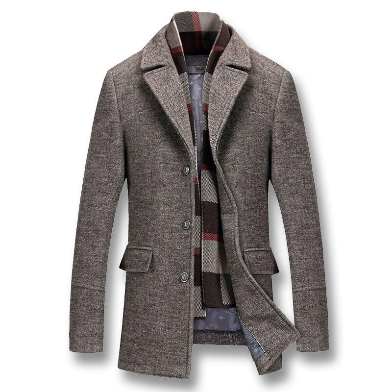 iSurvivor 2019 Inverno uomo cotone spesso giacche di lana cappotti maschio casuale dimagriscono Large Size Nylon Giacche Jaqueta Outwear