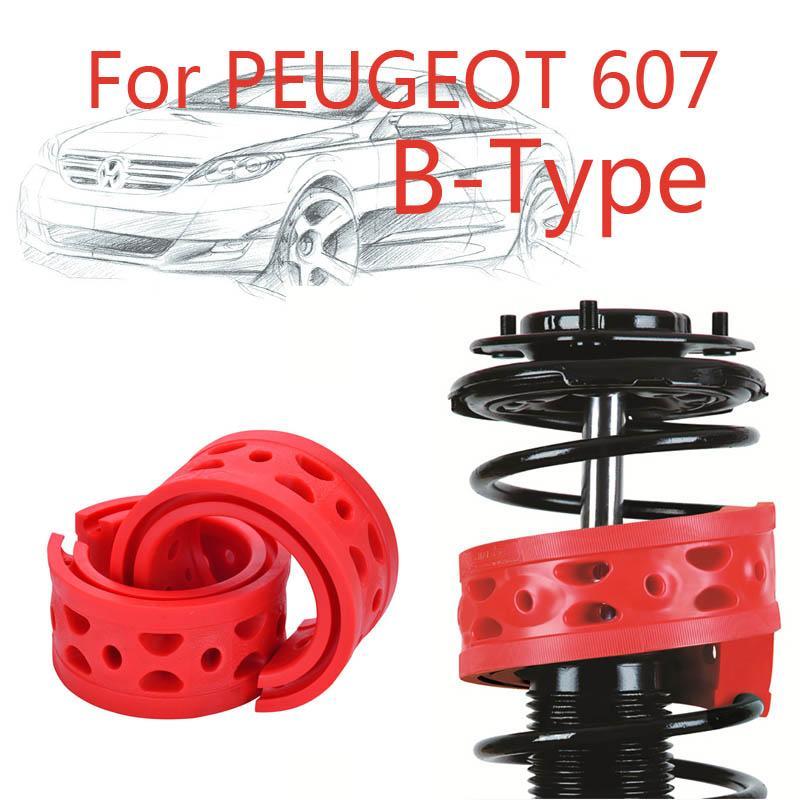 Jinke 1pair Anteriore Ammortizzatore SEBS Size-B Bumper Power Ammortizzatore Spring Buffer per Peugeot 607