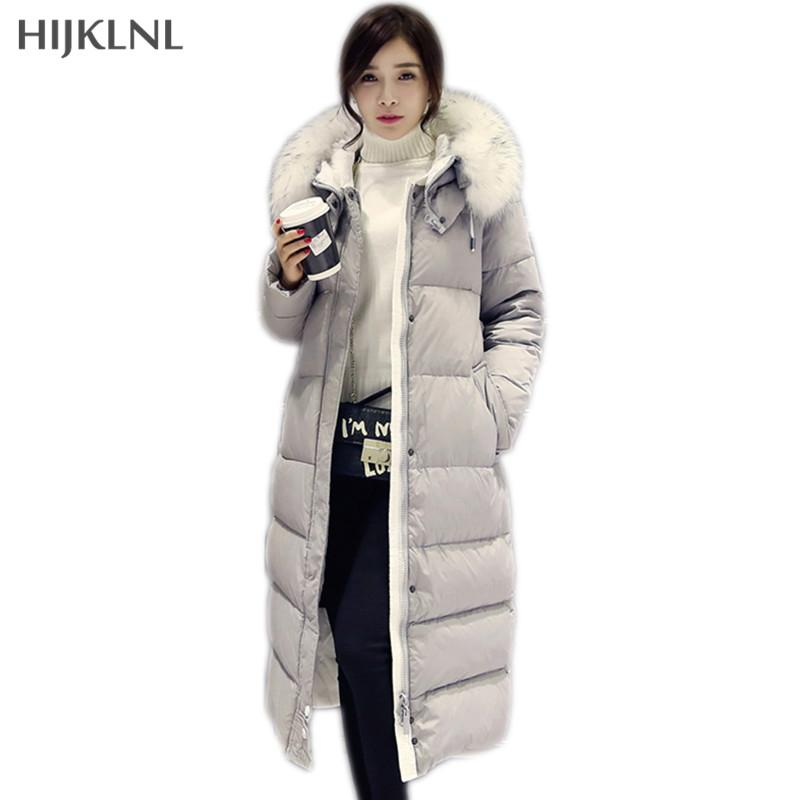 many choices of 2019 factory price large discount 2019 HIJKLNL 2017 Women'S Coats For Winter Thick Duck Down Jackets Women  Long Outwear New Warm Extra Long Down Coats Parka DX660 From Z02a, $155.13  | ...