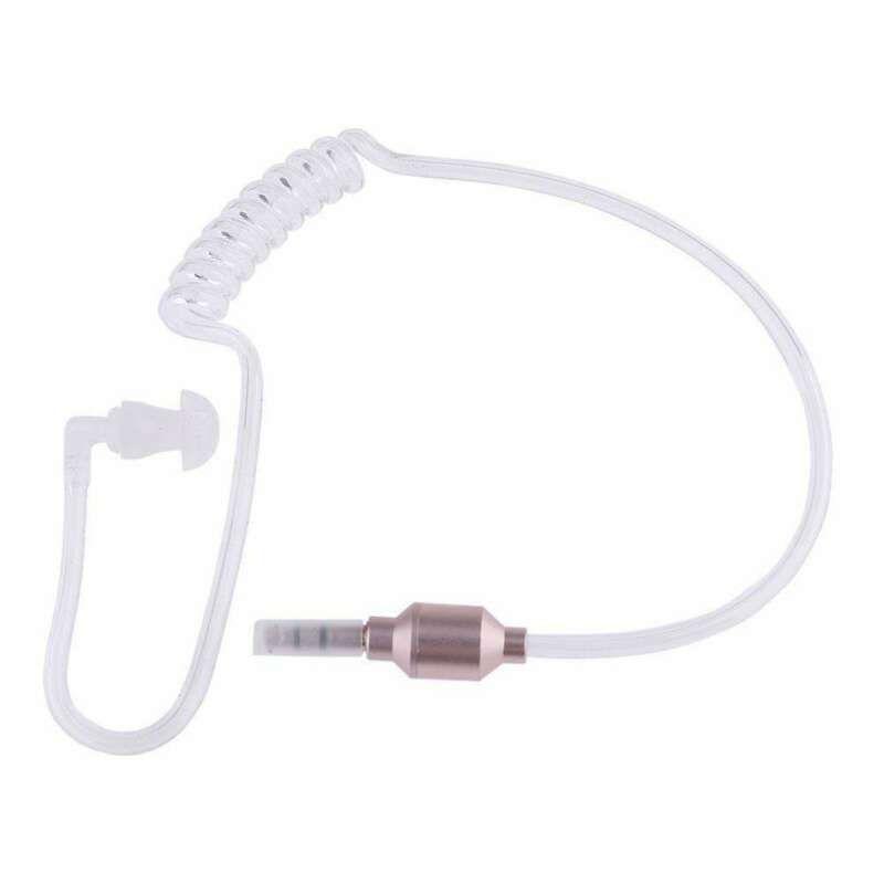3.5mm في الأذن المضادة للإشعاع سماعة ستيريو الهواء أنبوب مرن بإذن سماعة