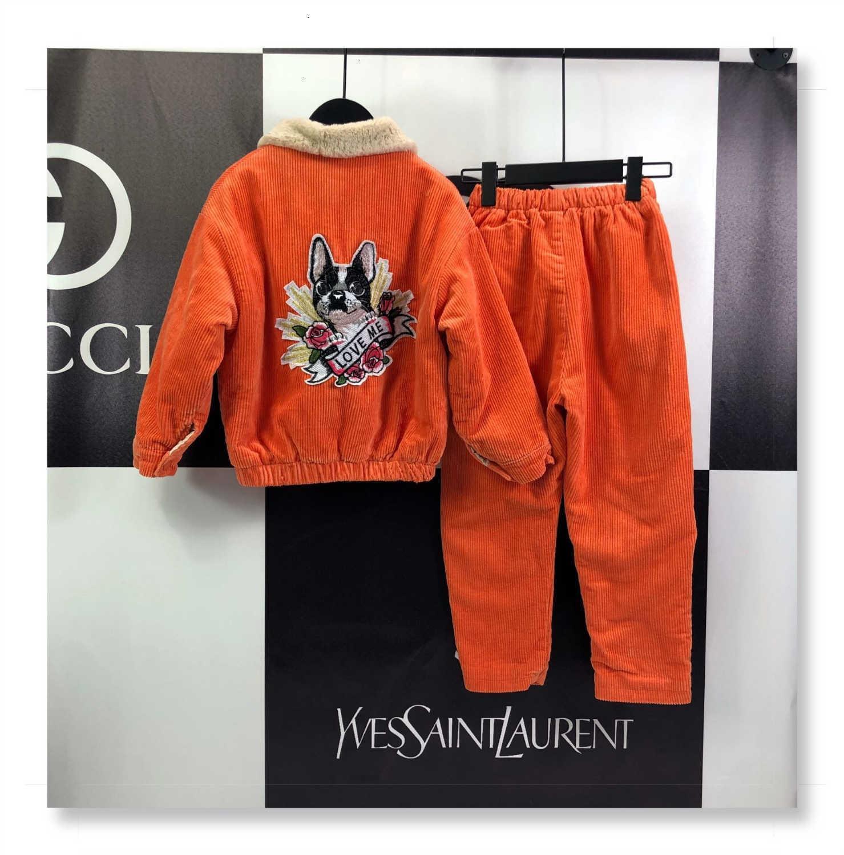 Garçons ensembles de sweats pour enfants de haute qualité HAUTS PANTALON 2 pièces ensembles de vêtements pour enfants 191129-8566 * 461