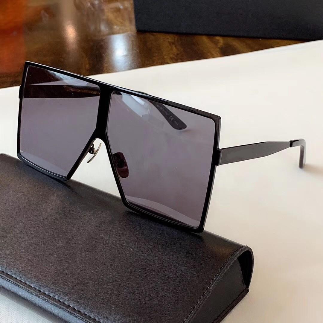 أعلى نوعية جديدة 182 رجل النظارات الشمسية الرجال النساء نظارات الشمس نظارات شمسية الاسلوب المناسب يحمي عيون Gafas دي سول هلالية دي سولي مع مربع