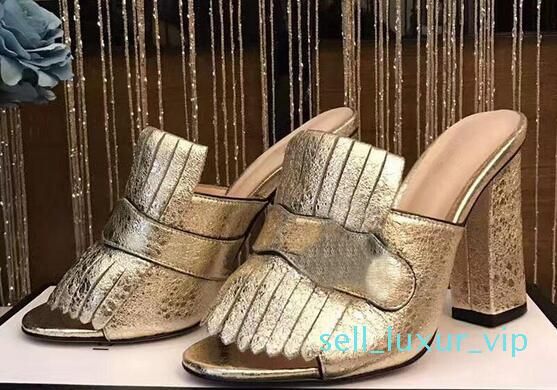 Hot Sale Womens Thick Heel Sandals