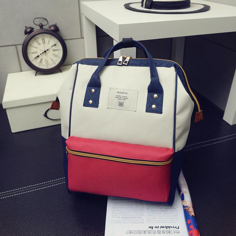 Designer-Japan Schulrucksäcke für Mädchen im Teenageralter Cute Schulrucksack für die Schule College-Tasche für Frauen Anello Ring Rucksack