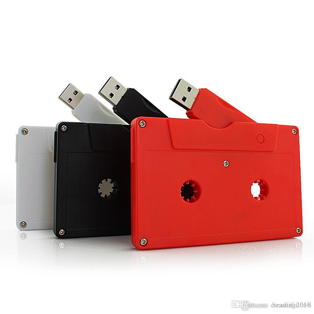브랜드 카세트 오디오 테이프 USB 3.0 Pendrive 사용자 정의 USB 플래시 드라이브 독특한 스튜디오 선물