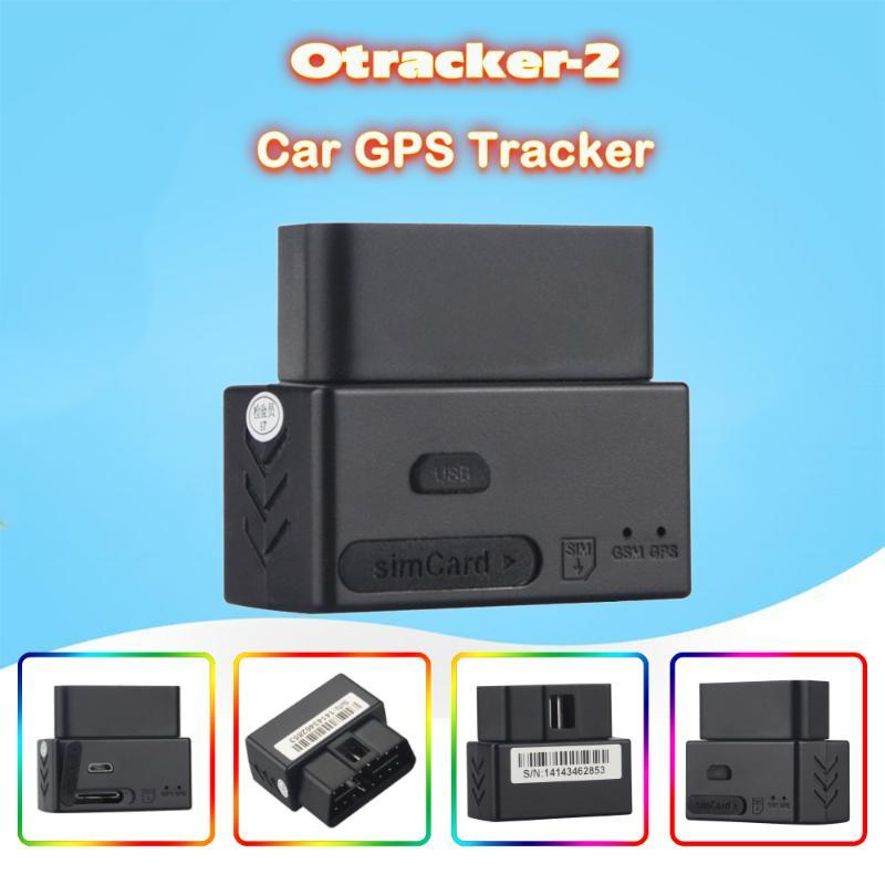 Practical Mini Vehicle Device GPS Tracker Otrack-2 GSM 850/900/1800/1900 mHz Remote Updating Software Car Locator Easy to Use