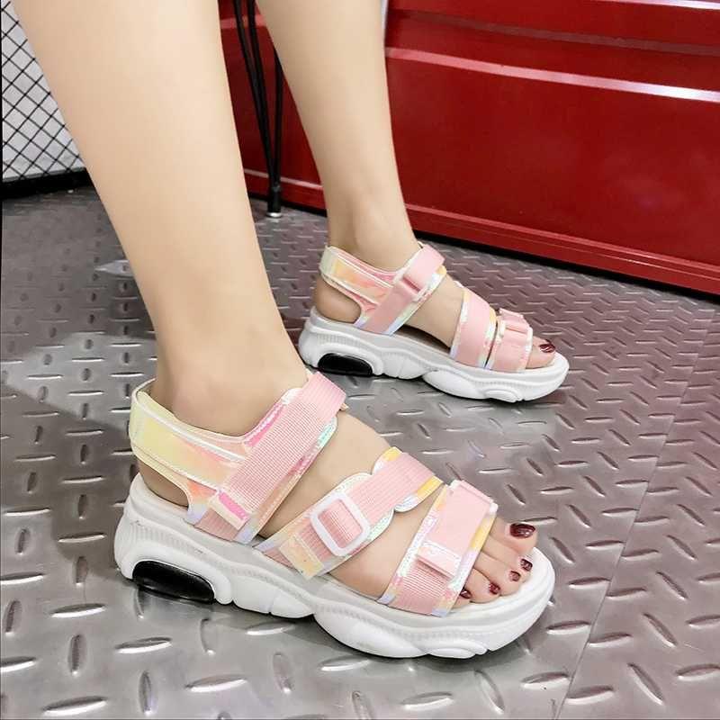 2020 Women Chunky Platform Sandals