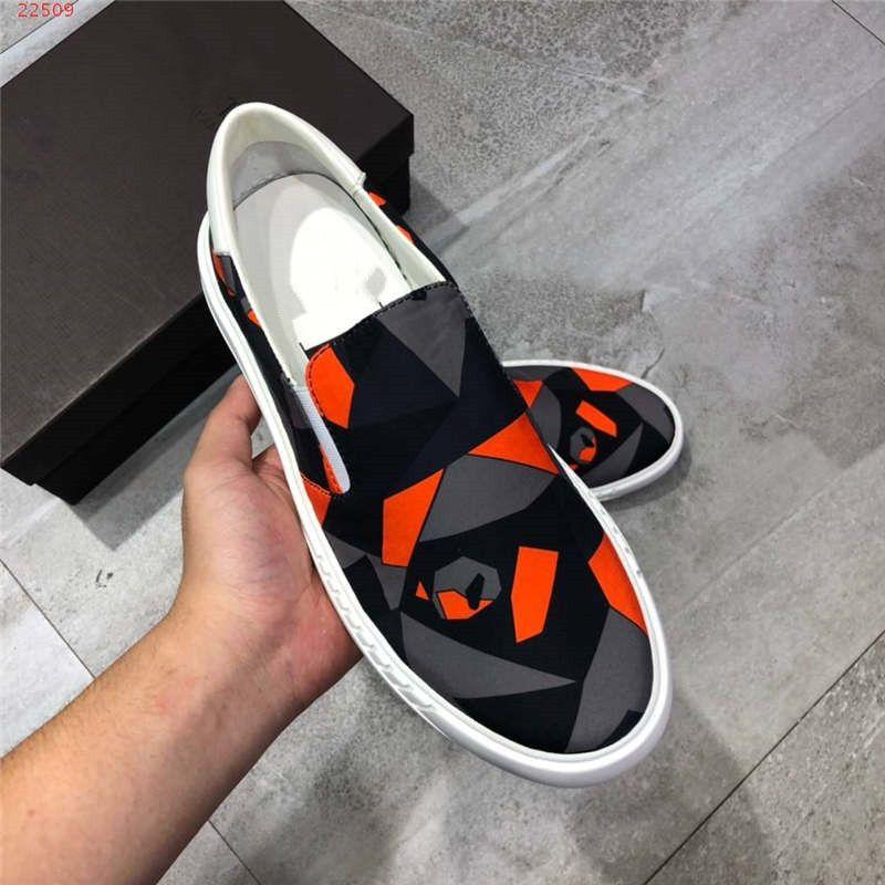 Mode neue Männer Qualität flache Kleid Schuhe frühen Frühling Tarnung Serie Multi Farbe optional Größe 38-44