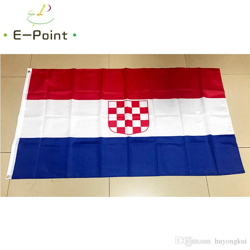 Флаг Баната Хорватии 3*5 футов (90 см*150 см) полиэстер флаг баннер украшения летающий дом сад флаг праздничные подарки