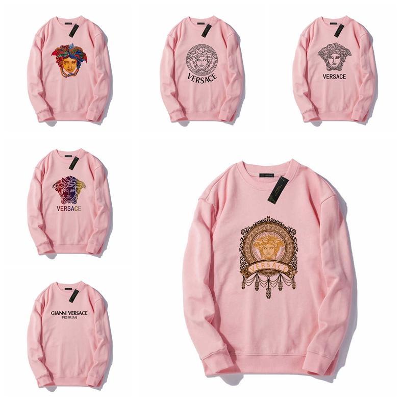 Mens Hoodies de las mujeres del otoño del resorte Nueva Fleece con capucha letras impresas suéter con capucha de Hip Hop S-XXL # 78941
