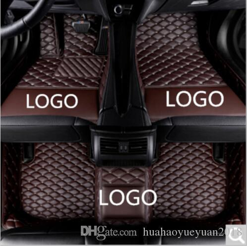 Details about Car floor mats all Dodge Charger 2013-2018 knitting LOGO