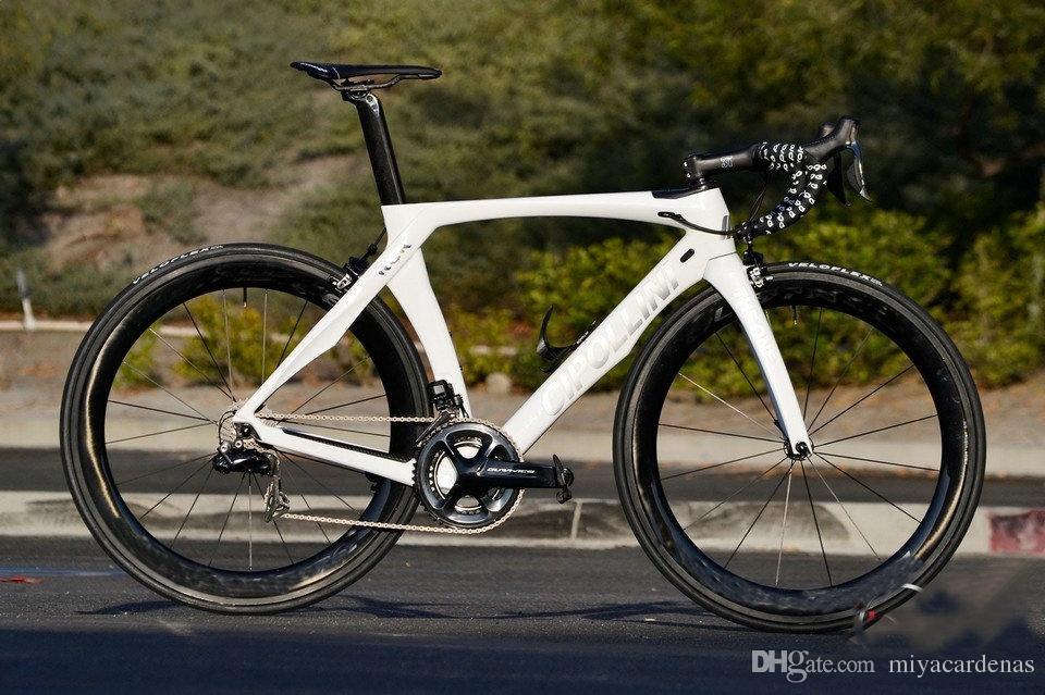 Cipollini RB1K TEK BIR Dura Ace R9150 Di2 Satılık Komple Bisiklet Groupset karbon yol tekerlek