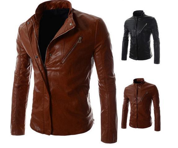 Kış Erkek Lokomotif Ceket Marka PU Deri Kapüşonlu Ceket Erkekler Motosiklet Palto Büyük Boy Erkek deri ceketler
