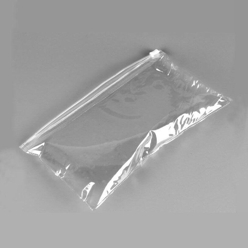 Şeffaf PVC dosya çantası fermuarlı çanta plastik yumuşak filmi torba toptan özel